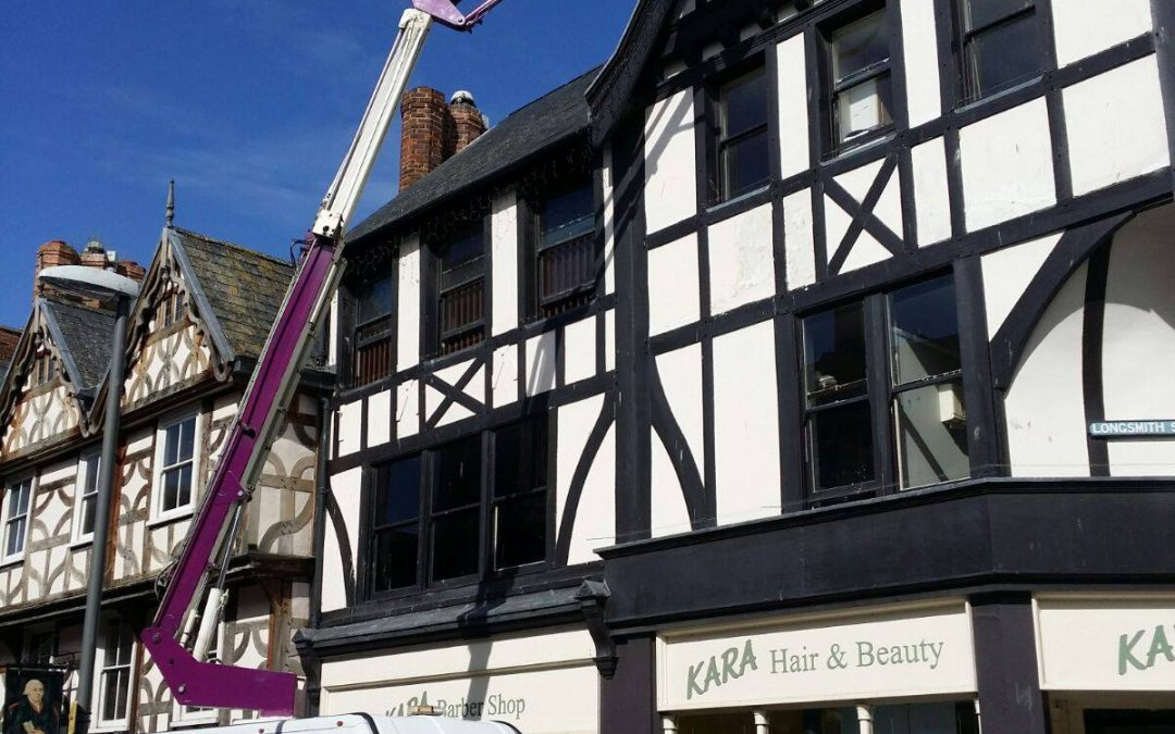 Hitting new heights in Gloucester…
