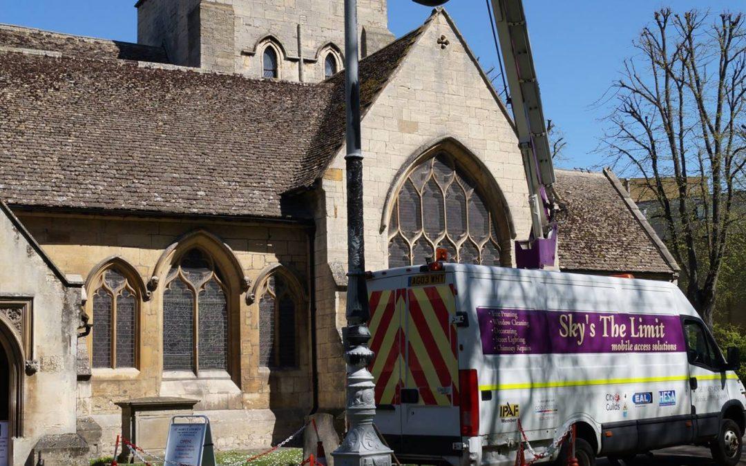 Lampost Refurbishments In Cheltenham